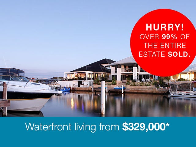 Waterlilly Drive, Mandurah, WA 6210