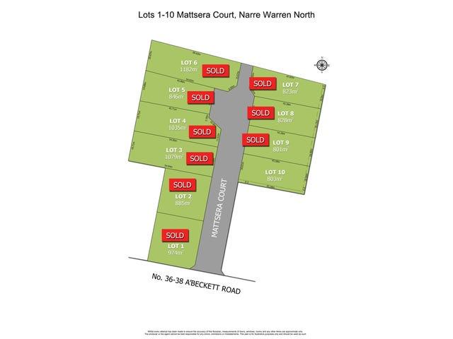 Lot 1-10, Mattsera Court, Narre Warren North, Vic 3804