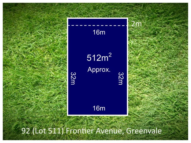 Lot 511, 92 Frontier Avenue, Greenvale, Vic 3059