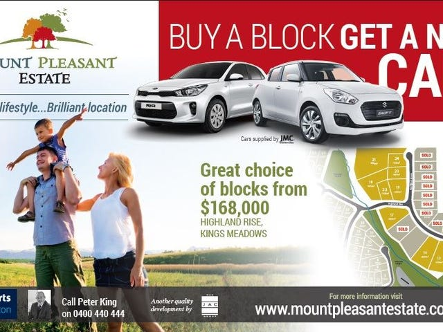 Stage 6 Mount Pleasant Estate, Kings Meadows, Tas 7249