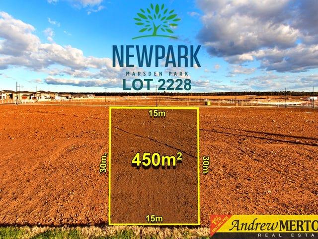 Lot 2228, Thornbill Street, Marsden Park, NSW 2765