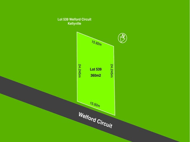 Lot 539 Welford Circuit, Kellyville, NSW 2155