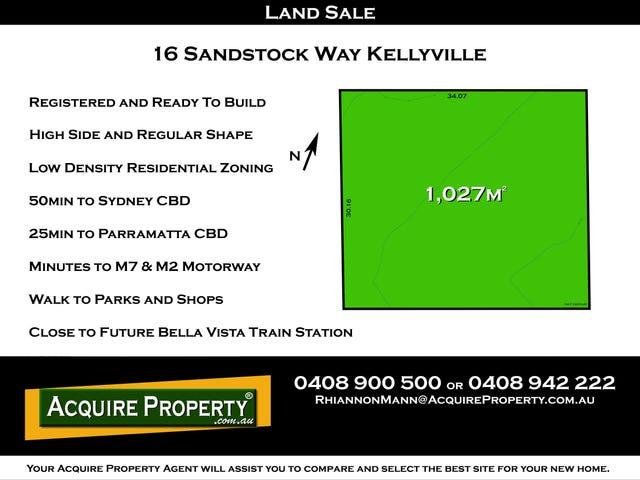 16 Sandstock Way, Kellyville, NSW 2155
