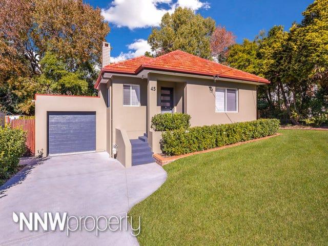 45 Irene Crescent, Eastwood, NSW 2122