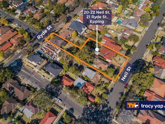 20-22 Neil Street, 21 Ryde Street, Epping, NSW 2121