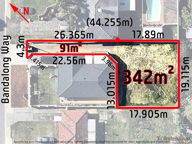 Proposed Lot 2 30 Bandalong Way, High Wycombe, WA 6057