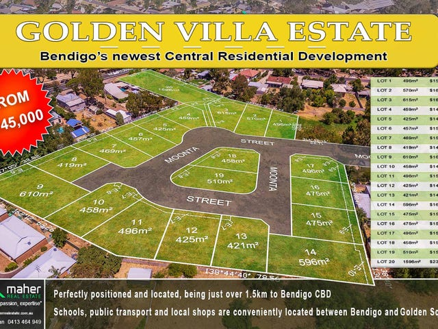 Lot 1 - 20 Moonta Street, West Bendigo, Vic 3550