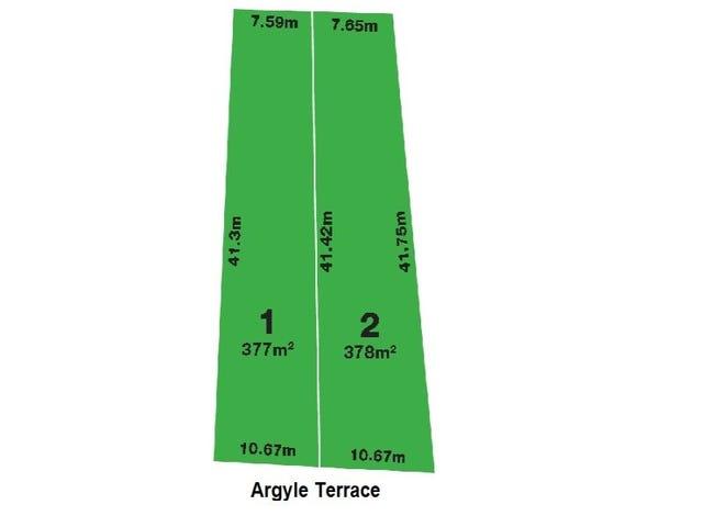 Lot 1 & 2, 21 Argyle Terrace, Klemzig, SA 5087