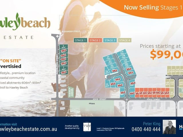 Land - Hawley Beach Estate, Hawley Beach, Tas 7307