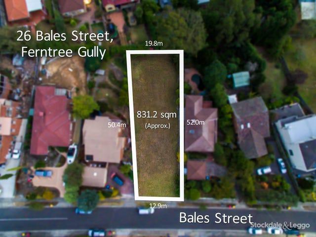 26 Bales Street, Ferntree Gully, Vic 3156