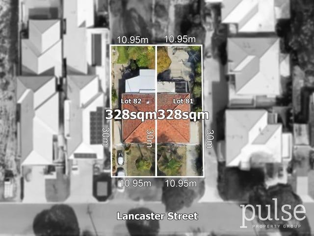 Proposed Lots 81 & 82, 63 Lancaster Street, Dianella, WA 6059