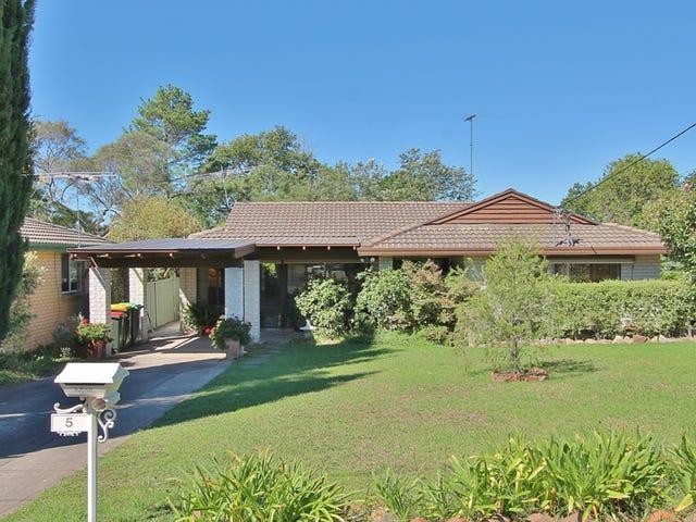 5 Arthur Street, Woodford, NSW 2778