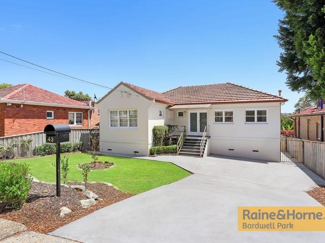 43 Prince Edward Avenue, Earlwood, NSW 2206