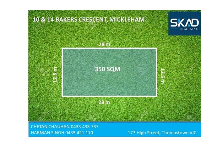 10 & 14 Barkers Crescent, Mickleham, Vic 3064