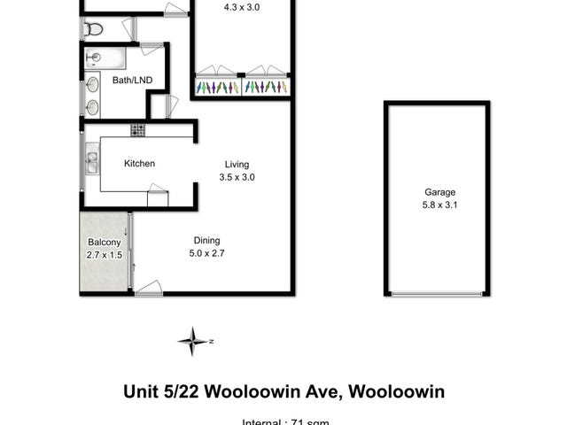 5/22 Wooloowin Avenue, Wooloowin, Qld 4030