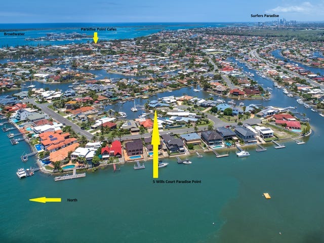 5 Wills Court, Paradise Point, Qld 4216