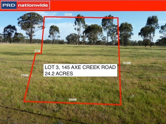 Lot 3, 145 Corner of Axe Creek Road and Whitney Road, Axe Creek, Vic 3551