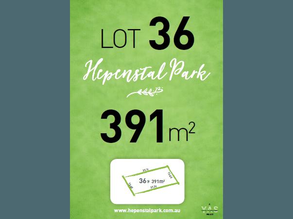 Lot 36, Hepenstal Park, Hackham, SA 5163