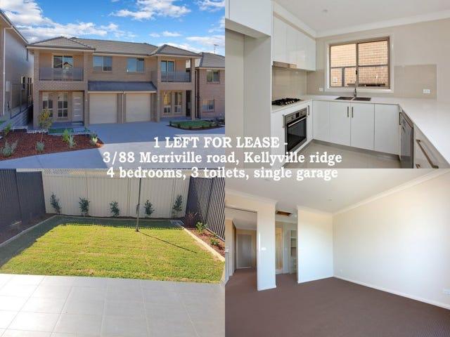 Lot 3/88 Merriville Road, Kellyville Ridge, NSW 2155