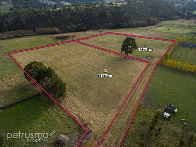 Lots 1 and 2 ,505 Back River Road, Magra, Tas 7140