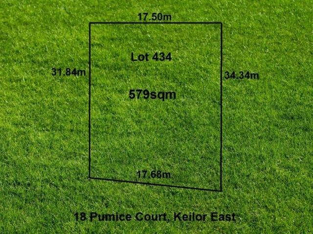 18 (Lot 434) Pumice Court, Keilor East, Vic 3033