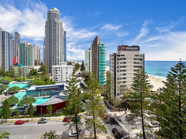 1101 ''Longbeach'' 28 Northcliffe Terrace, Surfers Paradise, Qld 4217