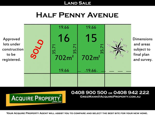 L16 Half Penny Avenue, Kellyville, NSW 2155