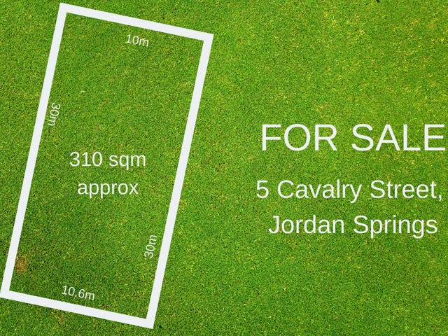 5 Cavalry Street, Jordan Springs, NSW 2747