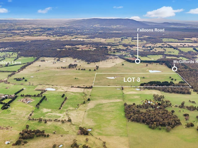 Lot 3 McGiffords Road, Tylden, Vic 3444