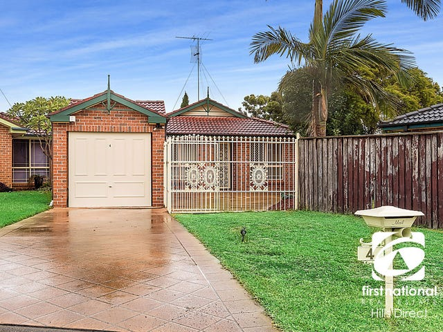 4  Tulsa Court, Quakers Hill, NSW 2763