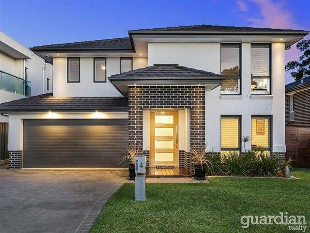 4 Tom Scanlon Close, Kellyville, NSW 2155