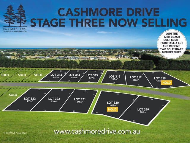 LOTS 313-323 Cashmore Drive, Barwon Heads, Vic 3227