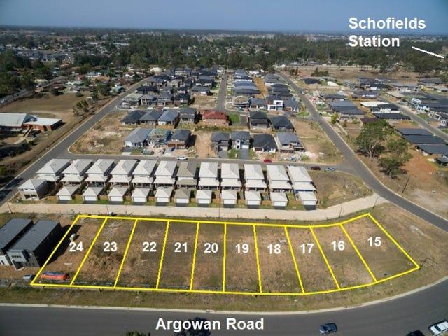 lot 15-24  Argowan Road, Schofields, NSW 2762