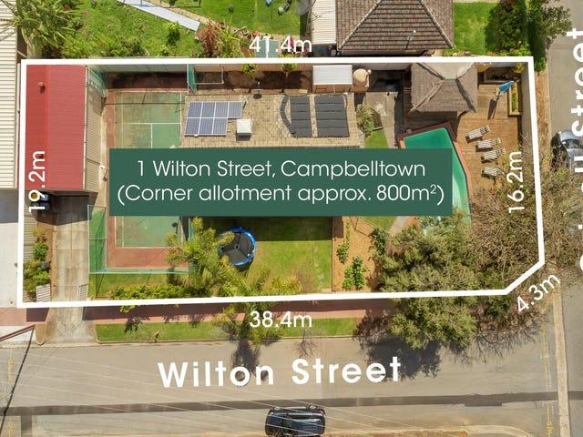 1 Wilton Street, Campbelltown, SA 5074