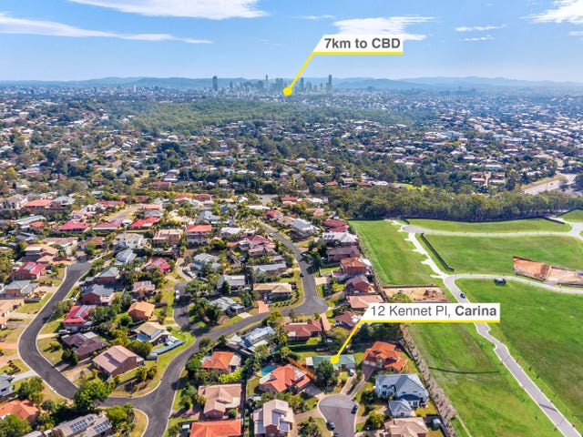 12 Kennet Place, Carina, Qld 4152