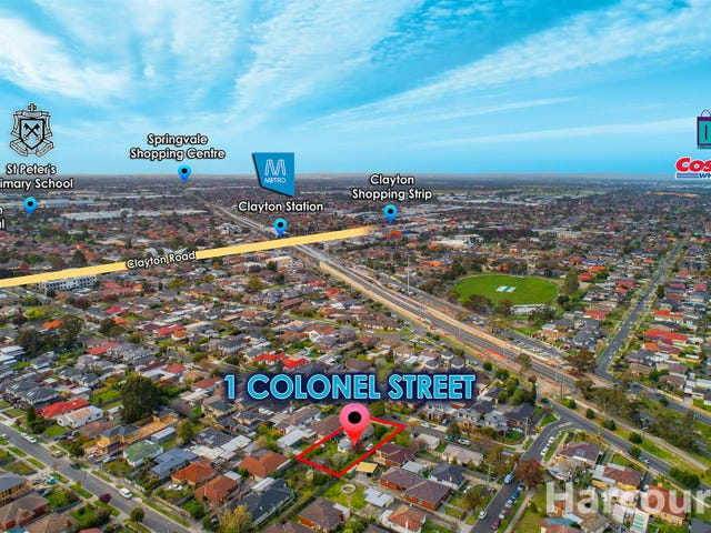 1 Colonel Street, Clayton, Vic 3168