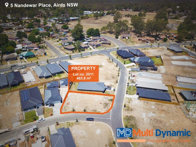 Lot 2011, 5 Nandewar Place, Airds, NSW 2560