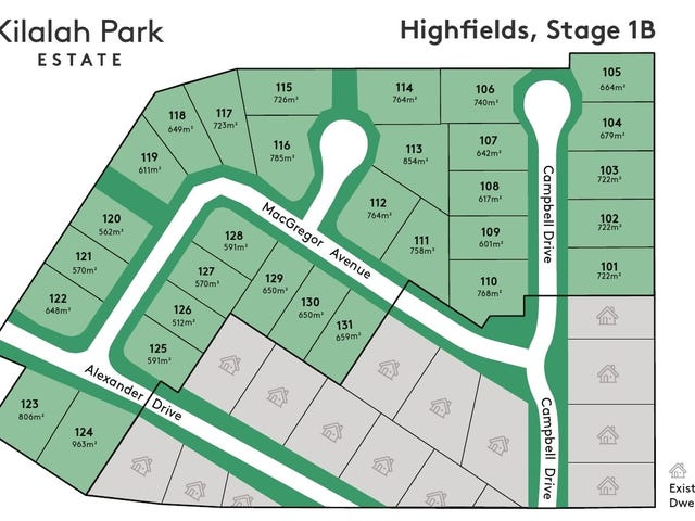 Lot 101-131, Kilalah Park Estate, Highfields, Qld 4352