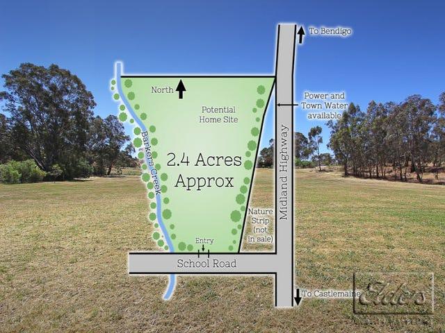 Corner School Road & Midland Highway, Barkers Creek, Vic 3451