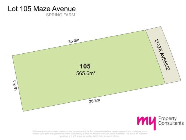 105 Maize  Avenue, Spring Farm, NSW 2570