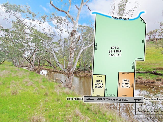 Lots 1,2 & 3 Kimbolton-Axedale Road, Axedale, Vic 3551