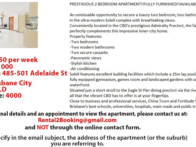 485-501 Adelaide St, Brisbane City, Qld 4000