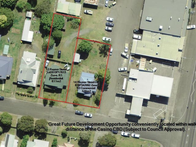 12 and 14 Rayner St, Casino, NSW 2470