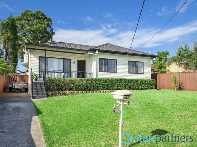 5 HICKORY STREET, Greystanes, NSW 2145