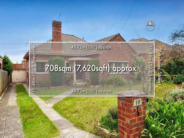 14 Aylmer Street, Balwyn North, Vic 3104