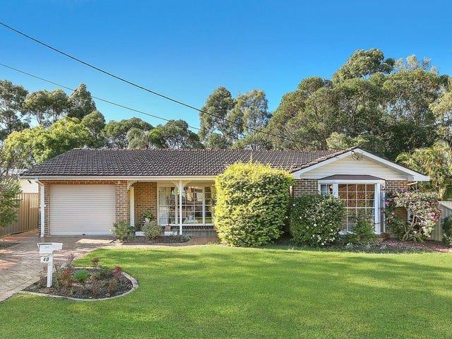 40 Leichhardt Crescent, Sylvania, NSW 2224