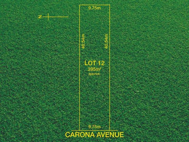 Lot 12/ 22A Carona Avenue, Gilles Plains, SA 5086