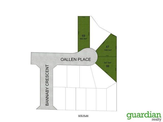 Lot 66, 67 & 69 Oallen Place, Schofields, NSW 2762