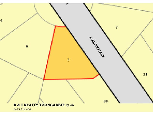 Lot 34 PLAN, 8 Bounty Place, Old Toongabbie, NSW 2146