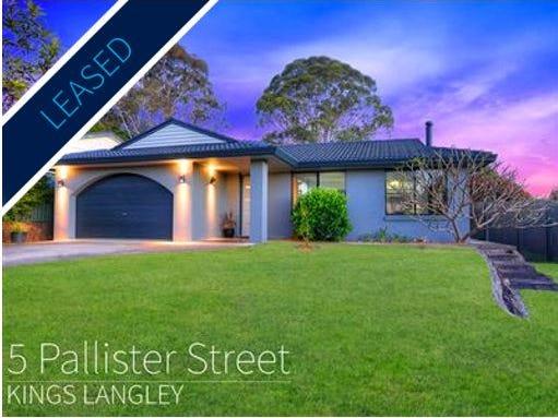 5 Pallister Street, Kings Langley, NSW 2147